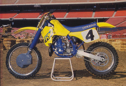 1987 Factory Suzuki RM250 of Johnny O'Mara  - Dirt Bike pic | by Tony Blazier