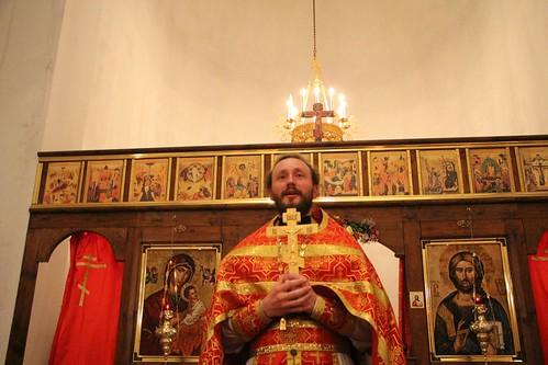 Пасхальное Богослужение в Свято-Никольском храме станицы Кавказской IMG_1487