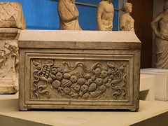 Roman Sarcophagus From Cyrenaica