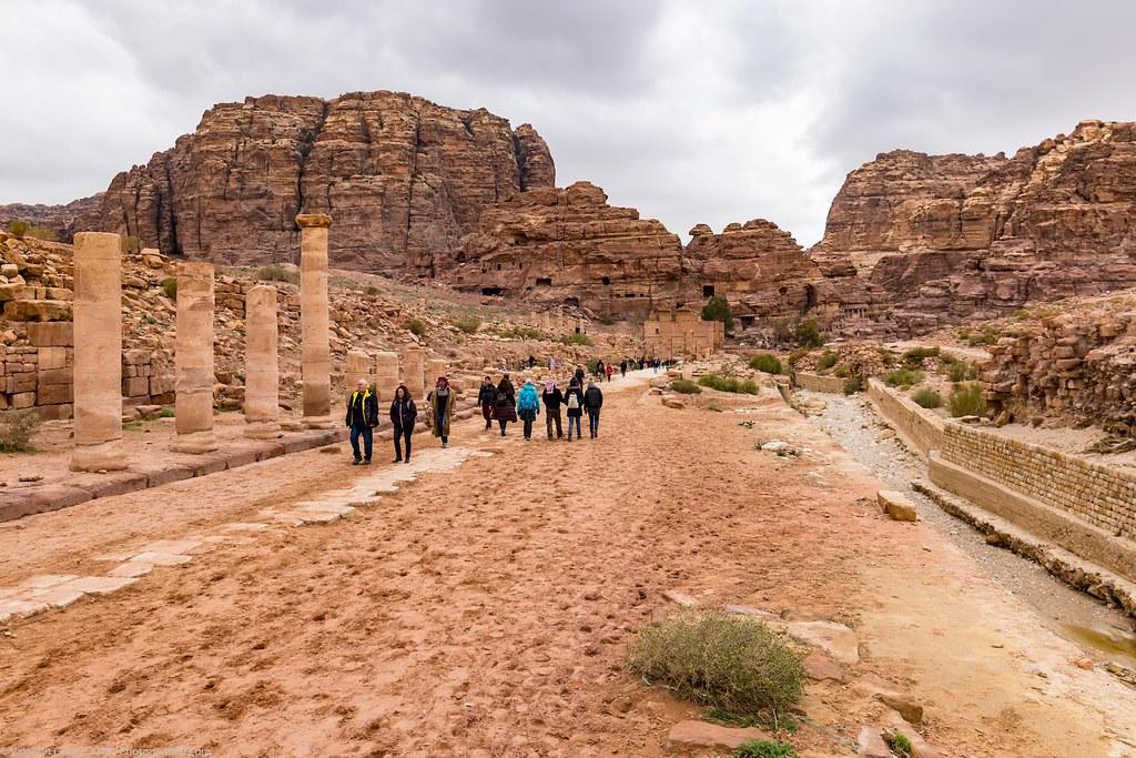 Petra_Iordania 28 dec 18_32_bulevard antic mediu