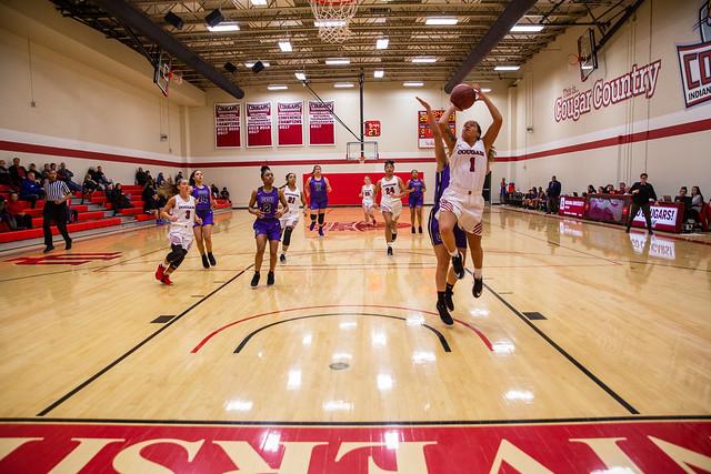 Women's basketball game 1-31-19