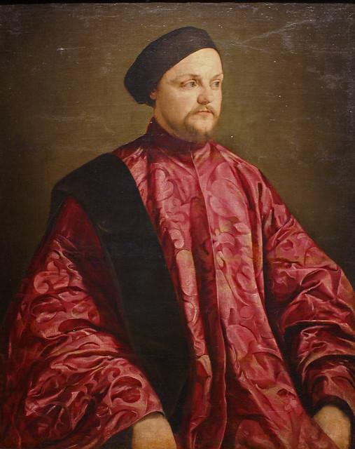 Jacopo Bassano, Bildnis des Bernardo Morosini - Portrait of Bernardo Morosini - Ritratto di Bernardo Morosini