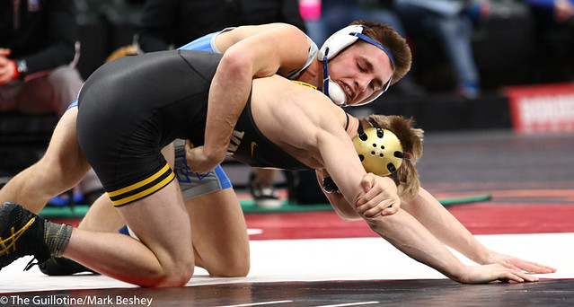 152AAA 152AAA 3rd Place Match - Tate Torgerson (Cambridge-Isanti) 42-10 won by fall over Chance Hinrichs (Bemidji) 41-12 (Fall 3:01) - 190302cmk0141