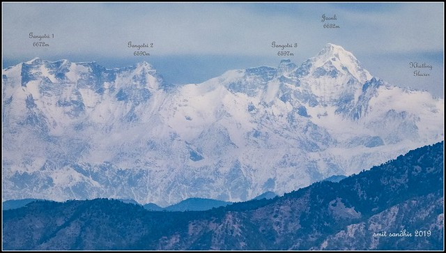 The Gangotri Range, Himalayas.