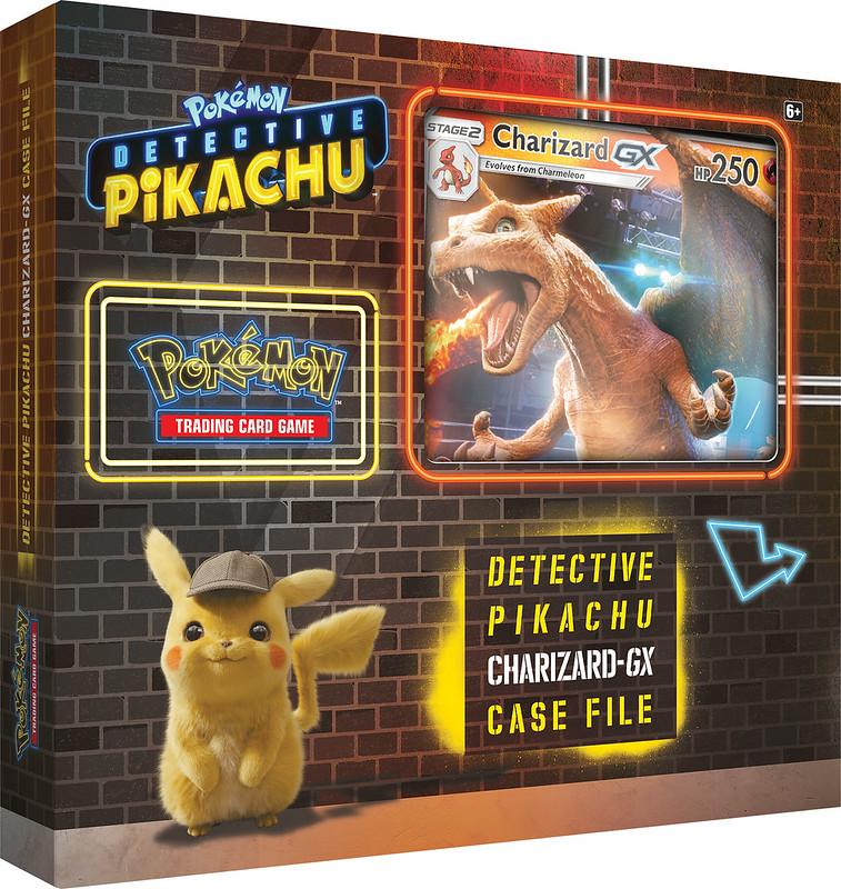 POKEMON Detective Pikachu TCG Charizard-GX Case File