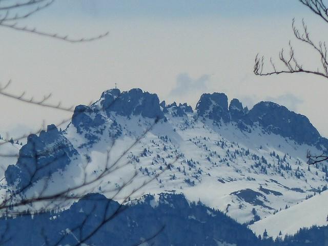 Gipfelkreuz Kampenwand