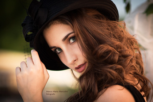 Giulia with hat (BIG format!!) | by marcomariamarcolini