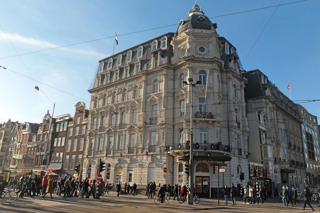 victoria hotel - amsterdam (netherlands) | damrak | victoria… | flickr