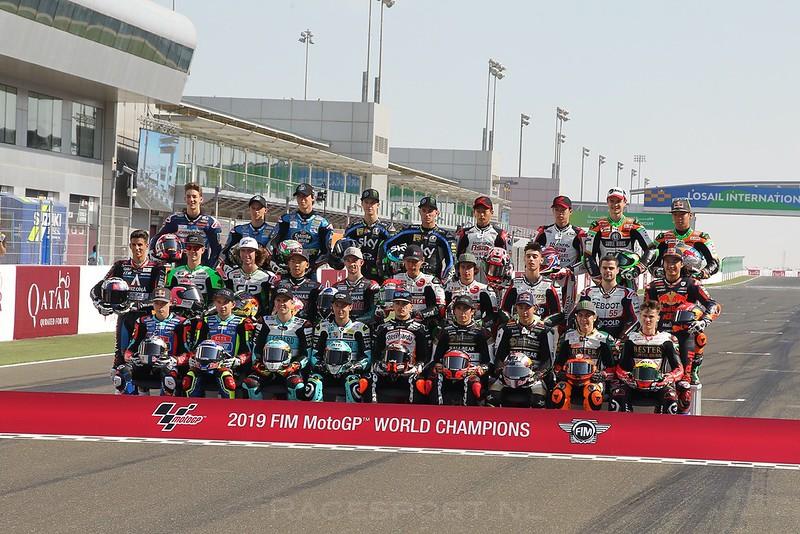 Moto3 startgrid 2019