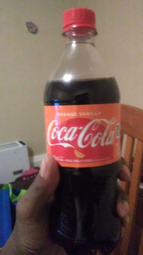Nothing but a taste some of that brand new Coca-Cola Orange Vanilla Soda! | by PenelopeBillerica2017