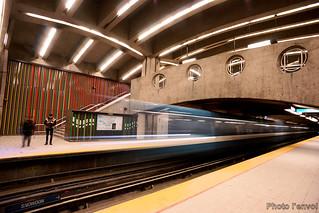 Station de metro Parc