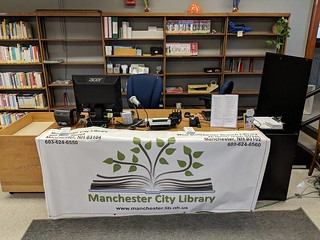 Temporary Children's Service Desk | by Manchester Library