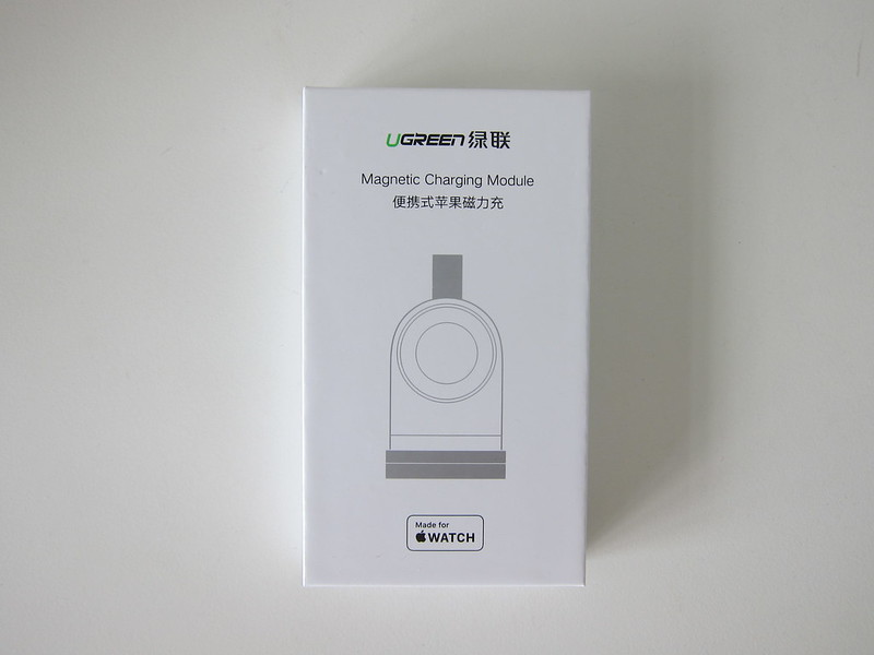 Ugreen Portable Apple Watch Charger - Box Front