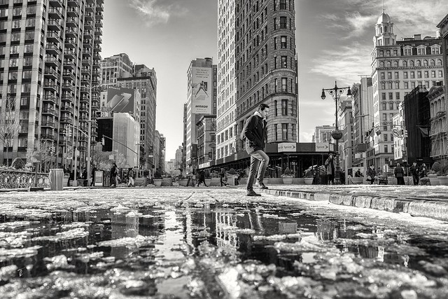 The streets are melting in NYC...
