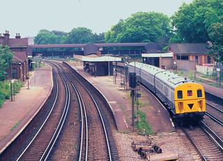 Wandsworth Common station in 1981 | by Tom Burnham
