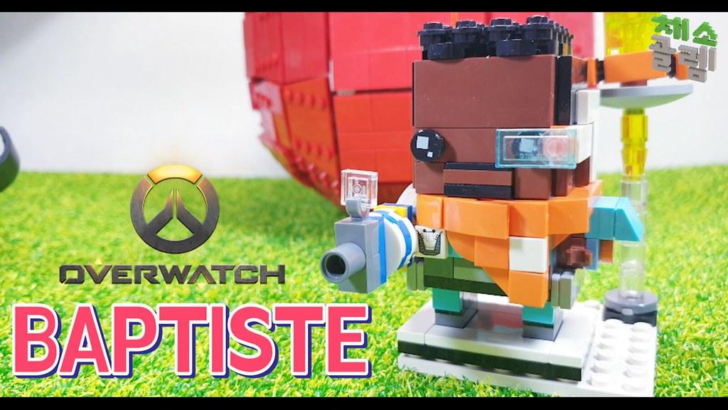 overwatch brickheadz - BAPTISTE | I made Lego Over Watch Bri