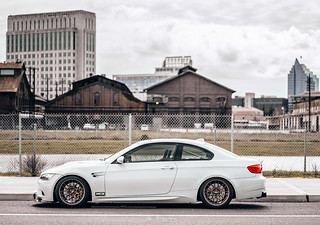 "Lacha's Dinan E92 M3 with 18"" ARC-8 Wheels in Matte Bronze 