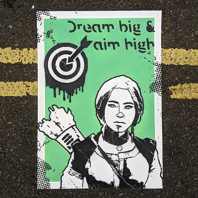 Dream big & aim high