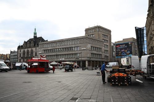 Kaufhaus J. Lewin, Marktplatz 3,5,7, Bruno Föhre, 1929
