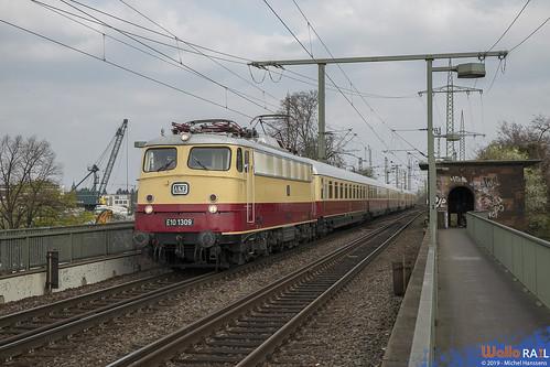 E 10 1309 . AKE . Köln-Südbrücke . 06.04.19.