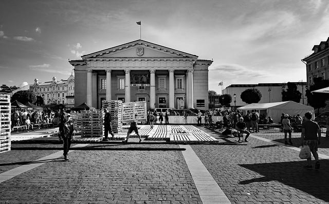 Vilnius / City Hall / Town Hall Square