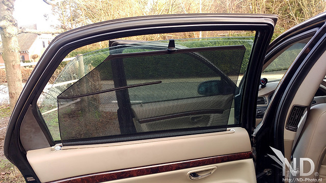 Volvo S80 2.4T Privacy Shades