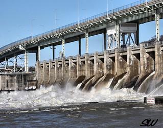 Chickamauga Dam on the Tn River Chattanooga Tn | by Scott Werkheiser