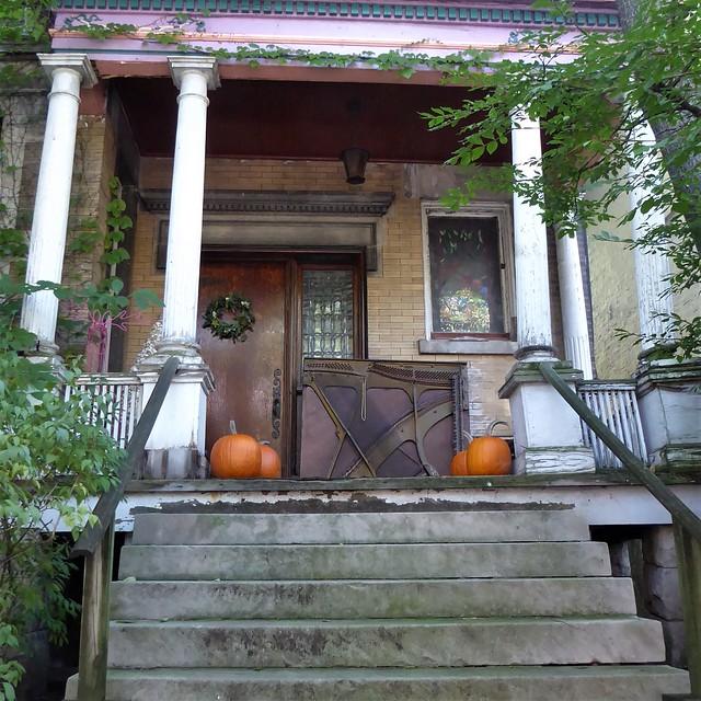 Chicago, Buena Park Neighborhood, House Porch