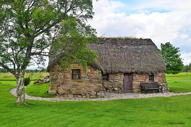 Leanach Cottage, Culloden - 15 Jun 2017