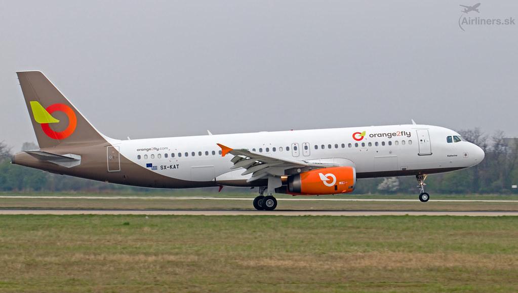 SX-KAT Orange2fly Airbus A320-232