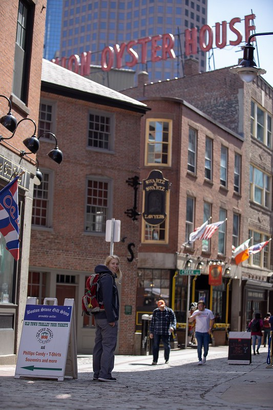 Innenstadt von Boston.