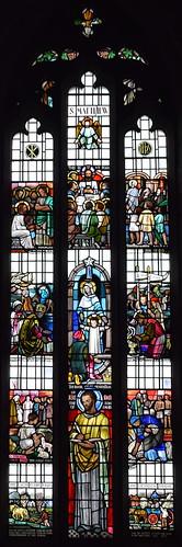 St Matthew window (Margaret Edith Aldrich Rope, 1959)