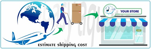 estimate shipping cost | by abbasyaquatic