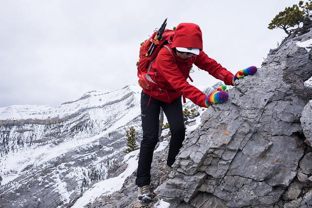 Scrambles - Anklebiter Ridge - Apr. 2019-20