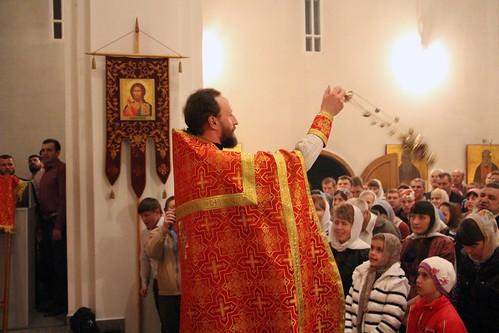 Пасхальное Богослужение в Свято-Никольском храме станицы Кавказской IMG_1376
