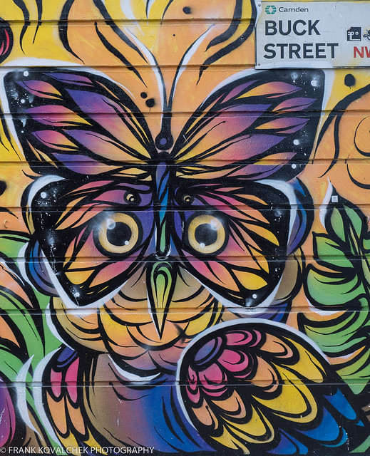 Street art in Camden Town, London