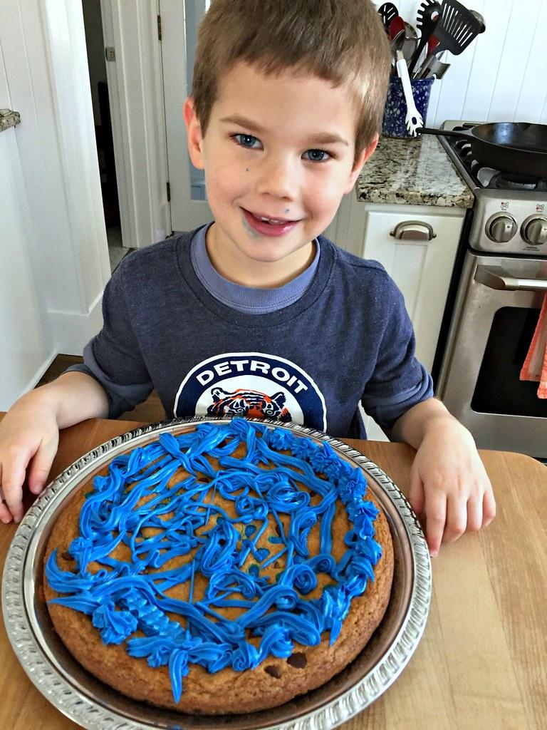 simon's cookie cake