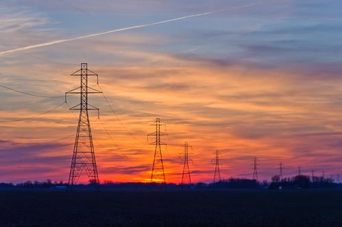 Power Sunset   by ramseybuckeye