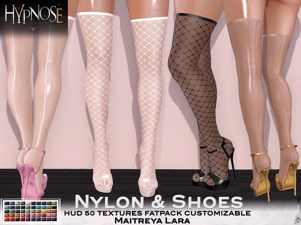 HYPNOSE - NYLON & SHOES MAITREYA - TeleportHub.com Live!