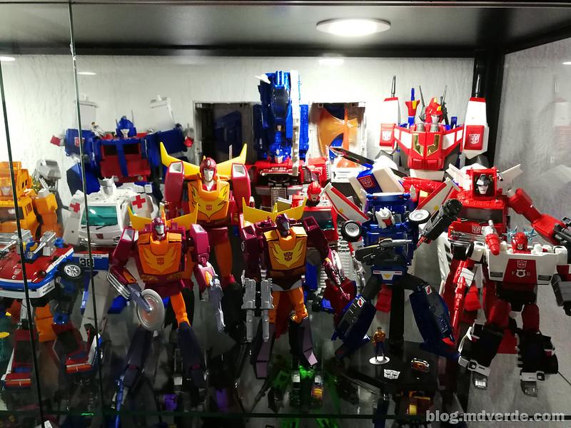 Mi colección de Transformers Masterpiece Autobots G1 2/2