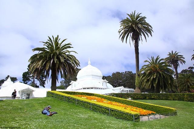 Golden Gate Park in San Francisco am 4.07.18