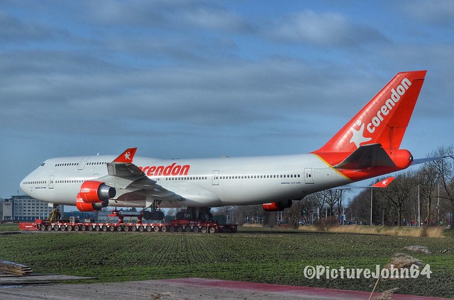 Corendon (ex KLM) Boeing 747