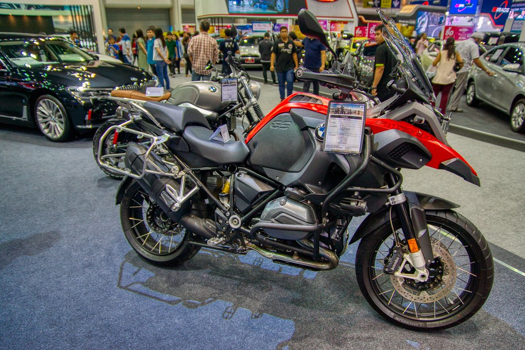 BMW motorbike at the 35th Thailand International Motor Exp