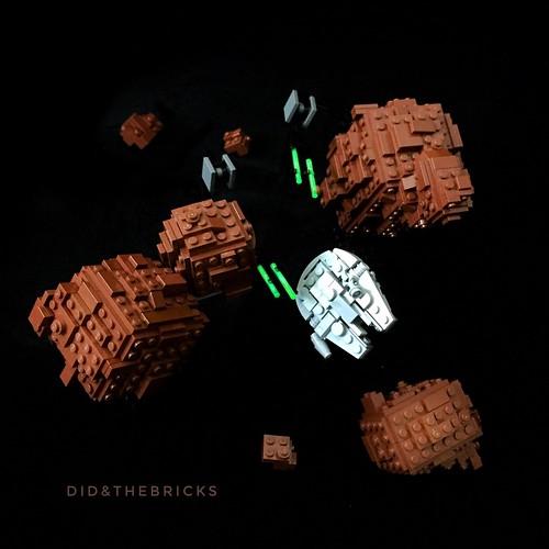 Asteroid Field Battle