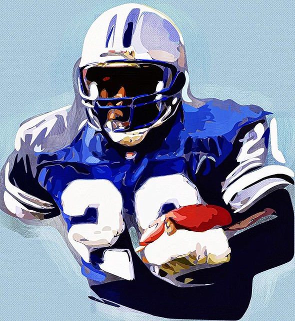 Barry Sanders - Detroit Lions HOF RB 3