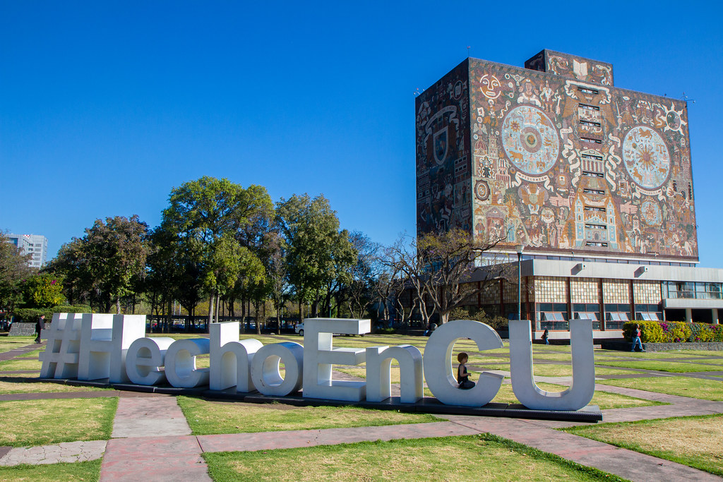 Central Library, UNAM, Mexico City   Garrett Ziegler   Flickr