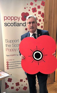 Backing Scottish Poppy Appeal | by Iain Gray MSP