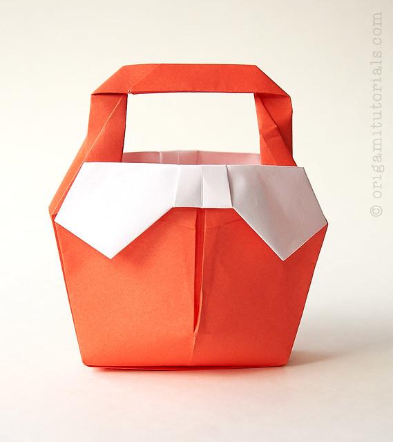Origami Ribbon Handbag