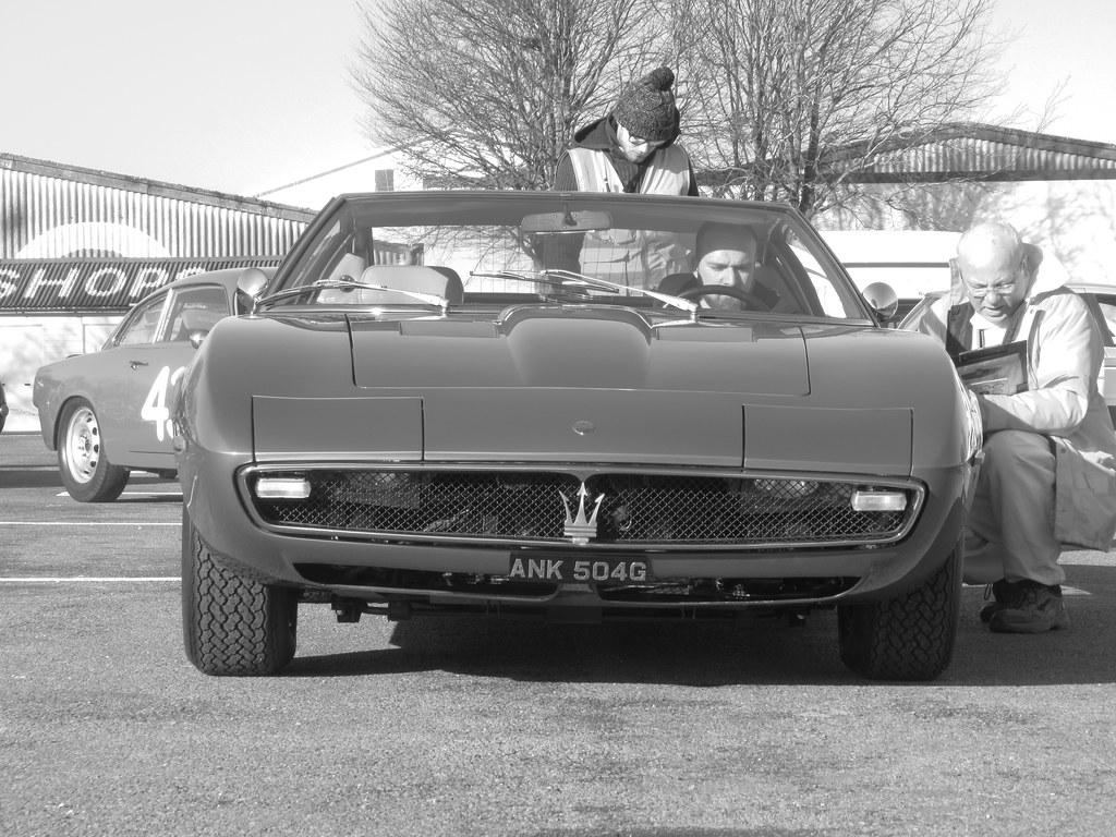 Maserati Ghibli 1968, CKL Development Track Day, Goodwood ...