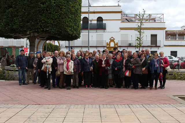 VISITA TURÍSTICA DEL PUEBLO DE BORMUJOS A TOCINA.